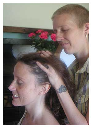 Indian Head Massage with Reiki